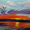 . Sunrise at Cattle Point A/C $125 6X6