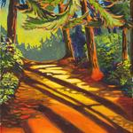 Morning Trail Acrylic/Canvas 16X20